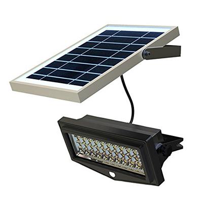 La foto mostra un faretto a LED per esterni