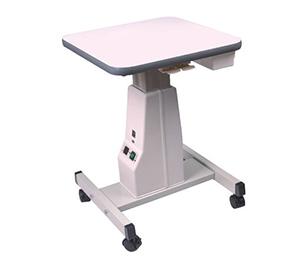 La foto mostra un tavolo optometrico