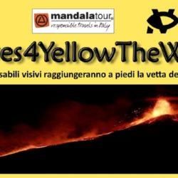 L'immagine mostra parte della locandina degli eventi dell'iniziativa vEyes4YellowTheWorld
